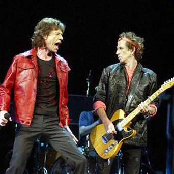 The Rolling Stones are getting ready for their Glastonbury performance