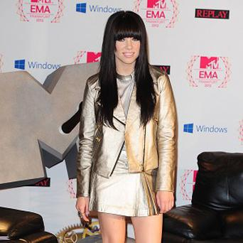 Carly Rae Jepsen joined other music stars in the American girl video