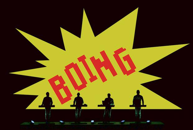 Kraftwerk playing live