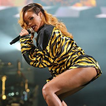 Rihanna delighted the crowds at T in the Park