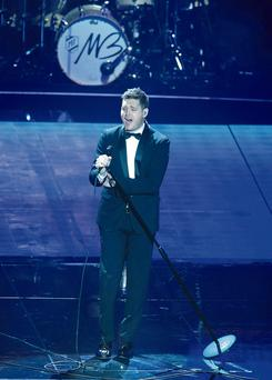 Michael Buble at the O2 last night