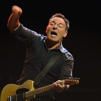 Bruce Springsteen dedicated his protest song to the late teen Trayvon Martin
