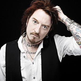 Ginger Wildheart is enjoying unlikely chart success with Hey! Hello!