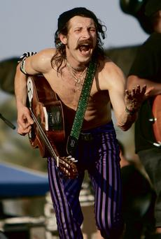 Live act: Gogol Bordello's anarchic frontman Eugene Hutzgogol bordello