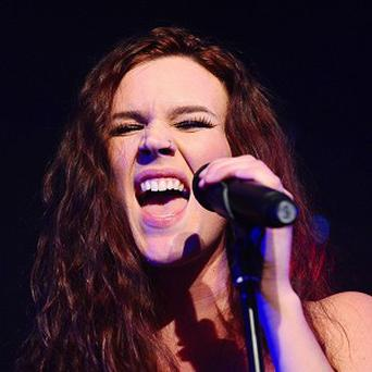 Singer Joss Stone dismissed the threats as a 'black comedy'