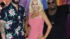 Adam Levine, Christina Aguilera, and CeeLo Green are mentors on The Voice in the US