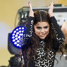 Selena Gomez has topped the US album charts for the first time