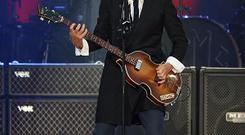 Paul McCartney is to perform at a Las Vegas festival