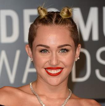 Miley Cyrus caused controversy at the MTV Video Music Awards
