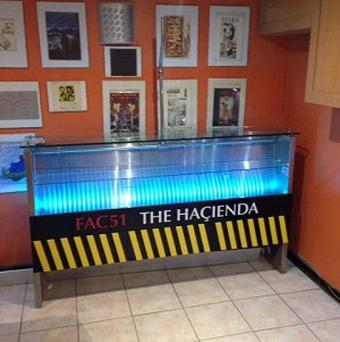 A urinal from the Hacienda is up for sale