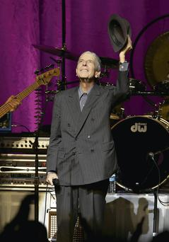 He's our man: Leonard Cohen is back to wow adoring Irish audiences once again this week