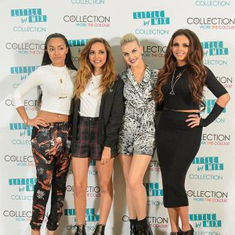 Little Mix have unveiled their new make-up collection
