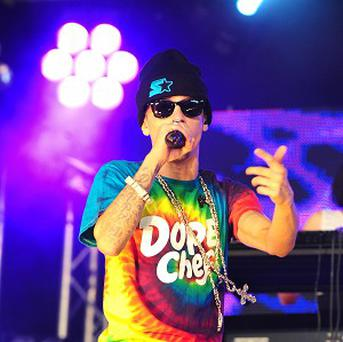 Dappy has reportedly been spotted carrying out his community service
