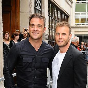 Gary Barlow has enlisted his Take That pal Robbie Williams for the Children In Need concerts