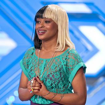 Embargoed to 0001 Saturday September 7ITV undated handout photo of Relley Clarke during the auditions for the ITV1 talent show, The X Factor.