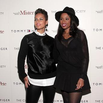 Alicia Keys and Jennifer Hudson think their children should form a group