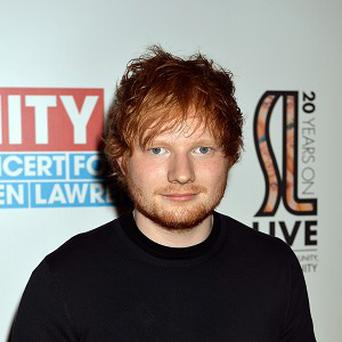 Ed Sheeran sang at a pal's wedding