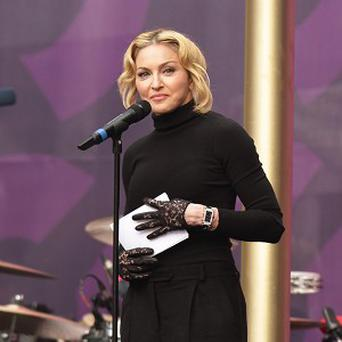 Madonna has been recognised for her songwriting skills