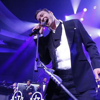 Justin Timberlake is nominated for the top prize at the 2013 American Music Awards