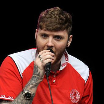 James Arthur who has suggested boy band Kingsland Road should be given the boot from the X Factor because they leave him 'cringing'