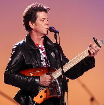 Lou Reed's hits Perfect Day and Walk On The Wild Side are heading up the charts