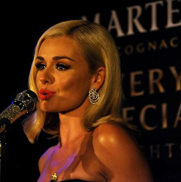 Katherine Jenkins hosted the launch of Martell Very Special Nights
