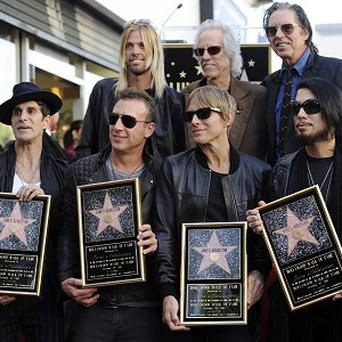 Jane's Addiction have been honoured with a star on the Hollywood Walk of Fame