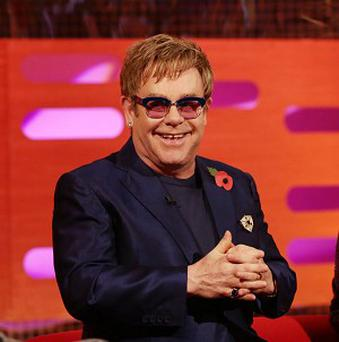 Sir Elton John has been chatting to Graham Norton