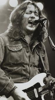 Black and white: Rory Gallagher