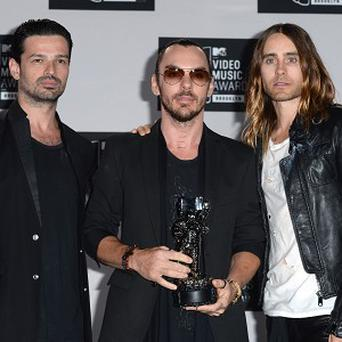 30 Seconds To Mars have an arena tour of the UK coming up