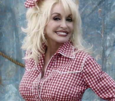Gingham Girl: Dolly Parton has said her famous song 'Jolene' is about a flirtatious bank teller