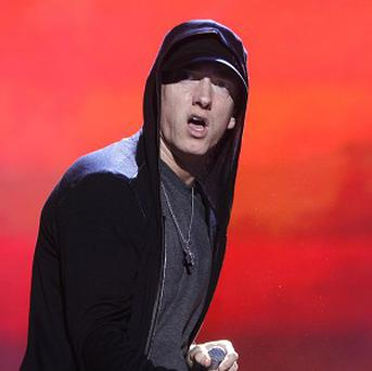 Eminem was named artist of the year at the first YouTube Music Awards