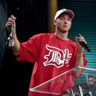 Rapper Eminem was a big winner at the awards