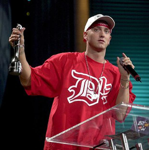 MTV Eminem's Hat-trick Of Happiness