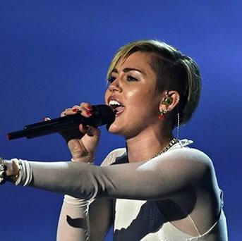 Miley Cyrus sparked controversy at the MTV EMAs