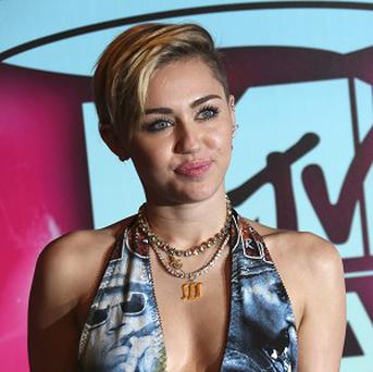 Miley Cyrus who performed on X Factor at the weekend