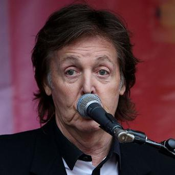 Sir Paul McCartney has written a letter to the Russian president