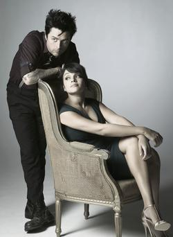 Contrasting styles: Billie Joe Armstrong and Norah Jones