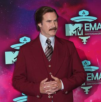 Will Ferrell's Anchorman character Ron Burgundy has recorded a song with Robin Thicke