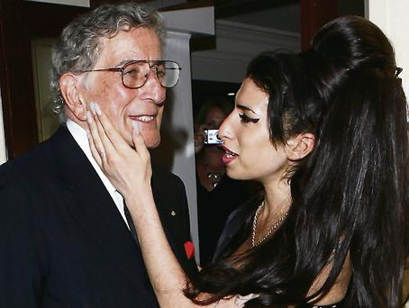In harmony: Tony Bennett and Amy Winehouse had a rapport
