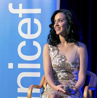 Katy Perry says cooking isn't her strong point
