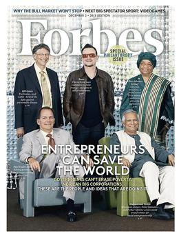 Latest issue of Forbes magazine