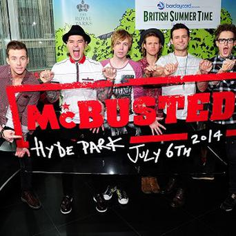 McBusted are looking forward to playing Hyde Park