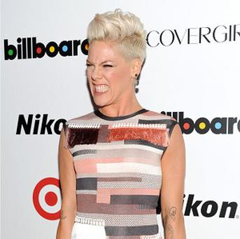 Pink said her husband helped inspire her Grammy nod