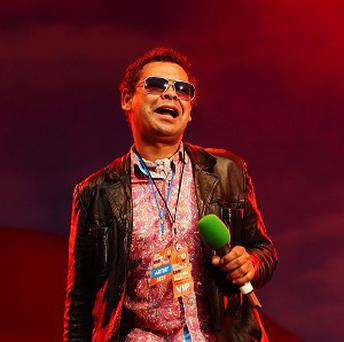 Craig Charles is hosting the Funk and Soul Christmas Ball at Blackpool's Winter Gardens