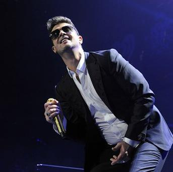 Robin Thicke's hit Blurred Lines has been a massive hit this year