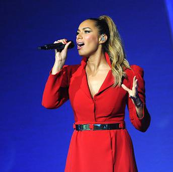 Leona Lewis made her festive album during the heatwave