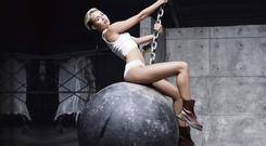Miley Cyrus's row with Sinead O'Connor made headlines in 2013.