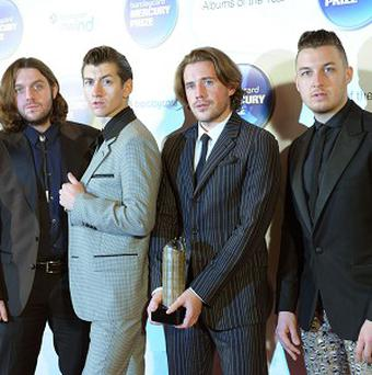 Arctic Monkeys' Matt Helders felt like the band hijacked the charts when they shot to success in 2005