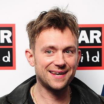Damon Albarn has announced that he will release his first official solo album in April.